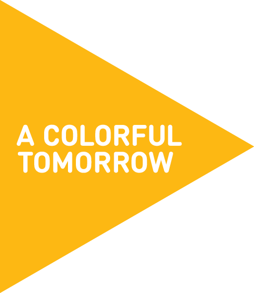 A colorful tomorrow